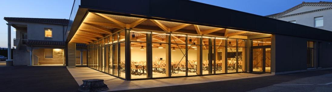 Architecte restaurant Lycée en Drôme Rhône-Alpes